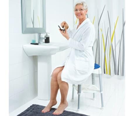 RIDDER Obrotowy stołek prysznicowy, niebieski, 150 kg, A0050401[7/8]