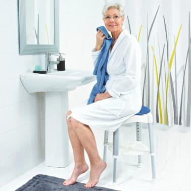 RIDDER Obrotowy stołek prysznicowy, niebieski, 150 kg, A0050401[6/8]