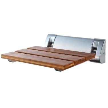 RIDDER Sulankstoma dušo sėdynė, bambukas, A0020200[1/4]