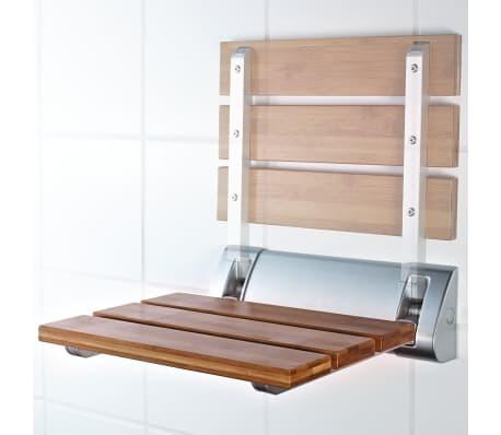 RIDDER Sulankstoma dušo sėdynė, bambukas, A0020200[2/4]
