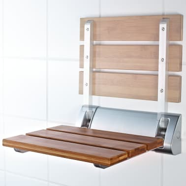 RIDDER Sulankstoma dušo sėdynė, bambukas, A0020200[3/4]