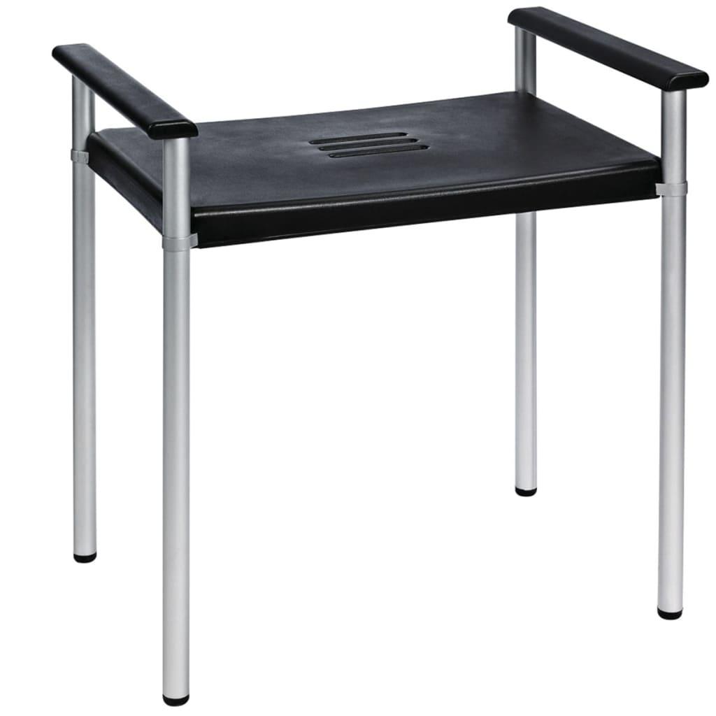Afbeelding van RIDDER Badkamerkruk Premium 100 kg zwart A0220010