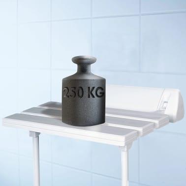 RIDDER Klappbarer Duschsitz Weiß XXL A0020301[1/3]