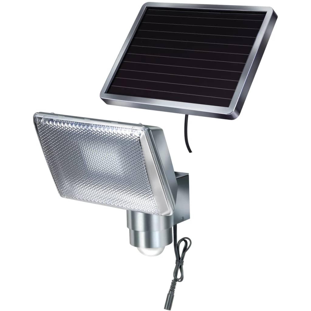 Brennenstuhl Προβολέας LED Ηλιακός με Ανιχνευτή Κίνησης από Αλουμίνιο