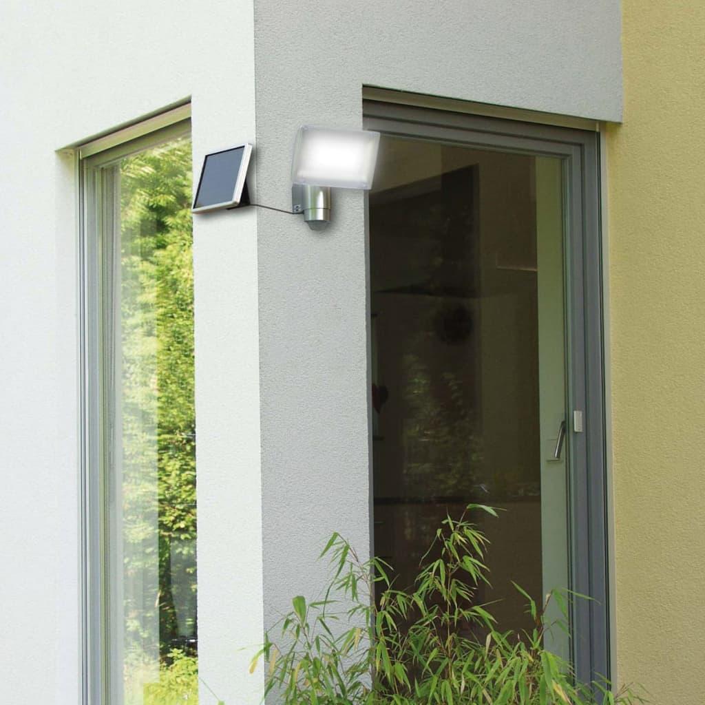 Brennenstuhl solar LED beveiligingslamp bewegingssensor