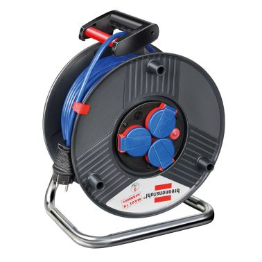 brennenstuhl kabeltrommel kabelrolle verl ngerungskabel 50m g nstig kaufen. Black Bedroom Furniture Sets. Home Design Ideas