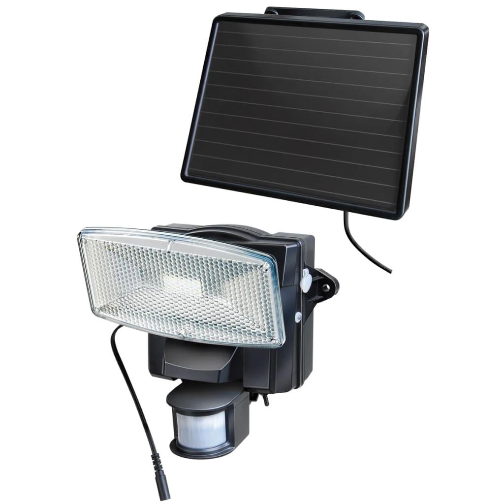 Afbeelding van Brennenstuhl solar LED beveiligingslamp bewegingssensor (zwart)