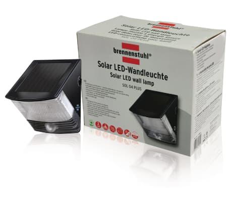brennenstuhl solar led wandleuchte strahler sol 04 plus zum schn ppchenpreis. Black Bedroom Furniture Sets. Home Design Ideas