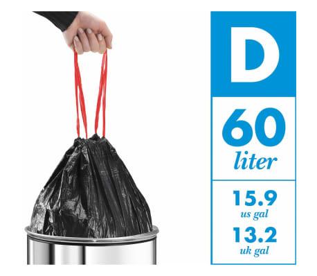 Hailo Cubo de basura Big-Box Swing  L 35 L acero inoxidable 0840-111[6/6]