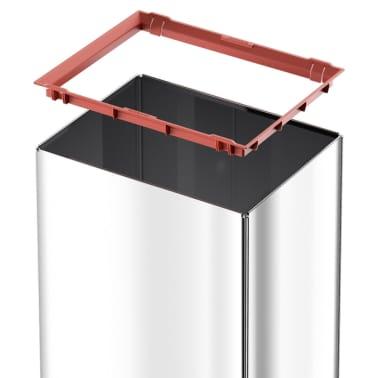 Hailo Cubo de basura Big-Box Swing  L 35 L acero inoxidable 0840-111[5/6]