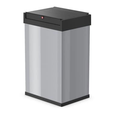 Hailo Cubo de basura Big-Box Swing tamaño L 35 L plateado 0840-121[1/4]