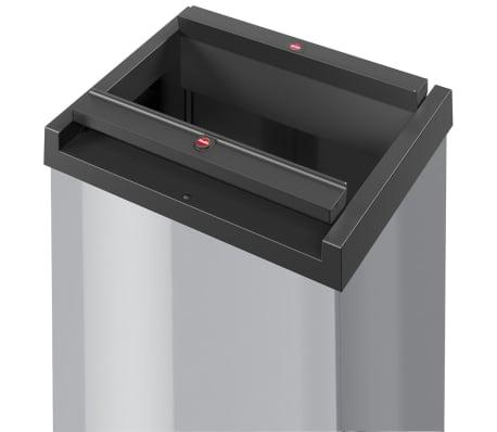 Hailo Cubo de basura Big-Box Swing tamaño L 35 L plateado 0840-121[2/4]