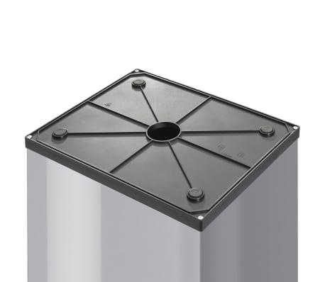 Hailo Cubo de basura Big-Box Swing tamaño L 35 L plateado 0840-121[3/4]