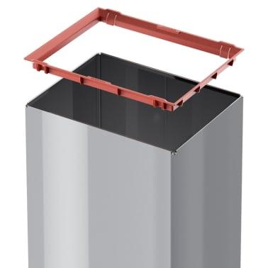 Hailo Cubo de basura Big-Box Swing tamaño L 35 L plateado 0840-121[4/4]
