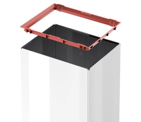 Hailo Cubo de basura Big-Box Swing tamaño L 35 L blanco 0840-131[4/4]