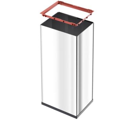 Hailo Cubo de basura Big-Box Swing  XL 52 L acero inoxidable 0860-211[4/5]