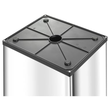 Hailo Cubo de basura Big-Box Swing  XL 52 L acero inoxidable 0860-211[3/5]