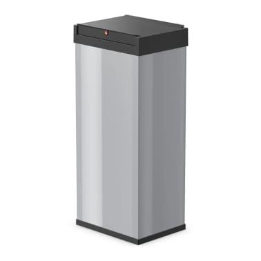 Hailo Cubo de basura Big-Box Swing tamaño XL 52 L plateado 0860-221[1/4]