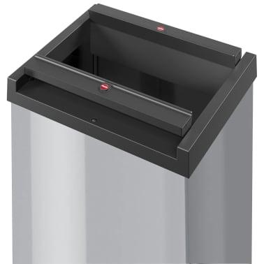 Hailo Cubo de basura Big-Box Swing tamaño XL 52 L plateado 0860-221[2/4]