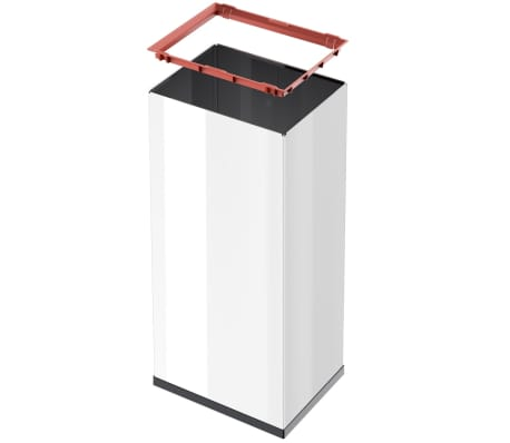 Hailo Cubo de basura Big-Box Swing tamaño XL 52 L blanco 0860-231[4/4]