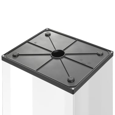 Hailo Cubo de basura Big-Box Swing tamaño XL 52 L blanco 0860-231[3/4]