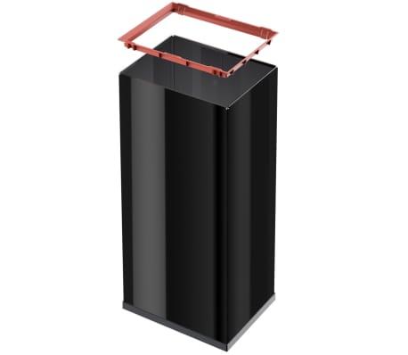 Hailo Papelera Big-Box Swing tamaño XL 52 L negra 0860-241[4/4]