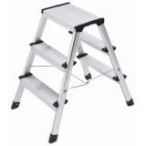 Hailo Klappbare Stufenleiter L90 Step-ke 2×3 Stufen 60 cm 4443-701