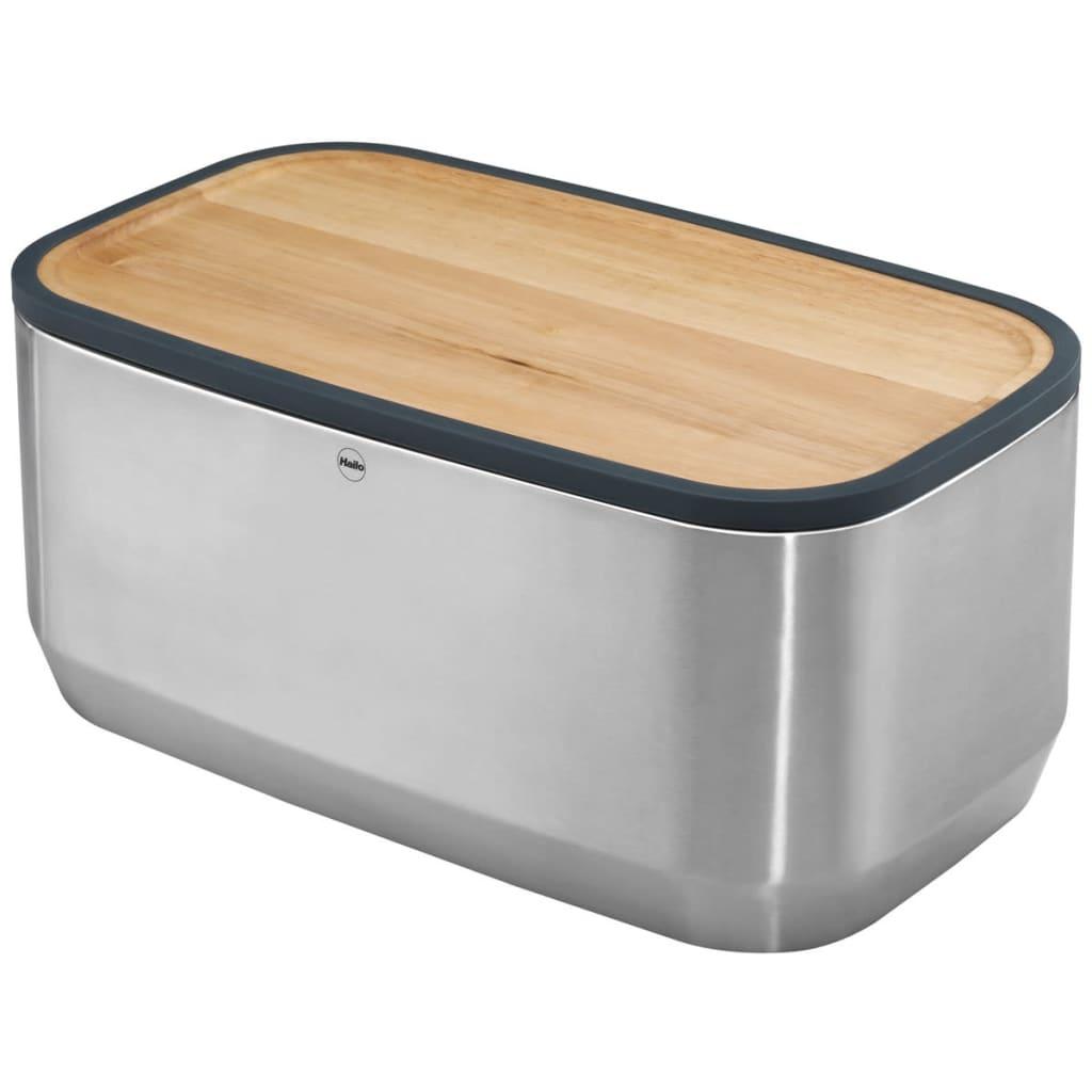 Afbeelding van Hailo KitchenLine Design Broodtrommel roestvrij staal 0833-950