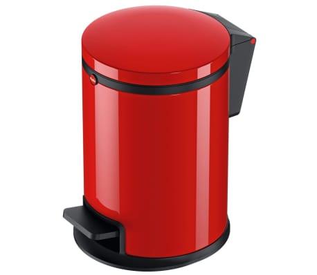 Hailo Papelera con pedal Pure tamaño S 3 L roja 0504-040[1/10]