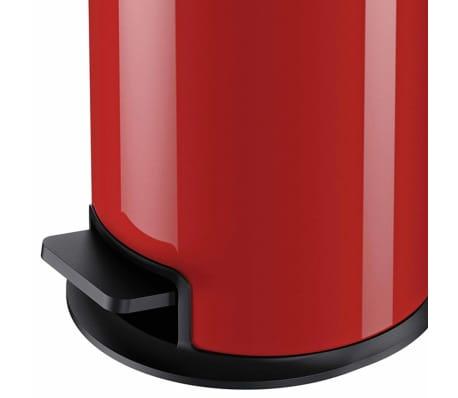 Hailo Papelera con pedal Pure tamaño S 3 L roja 0504-040[5/10]