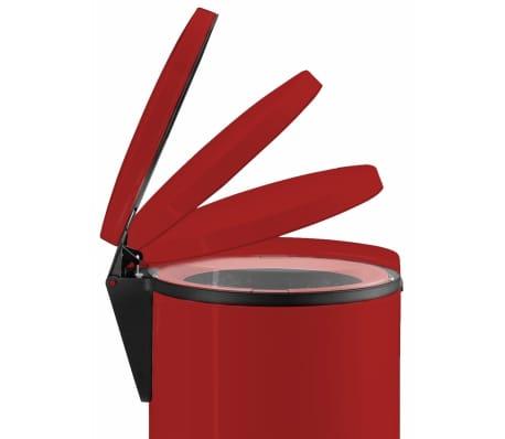 Hailo Papelera con pedal Pure tamaño S 3 L roja 0504-040[6/10]
