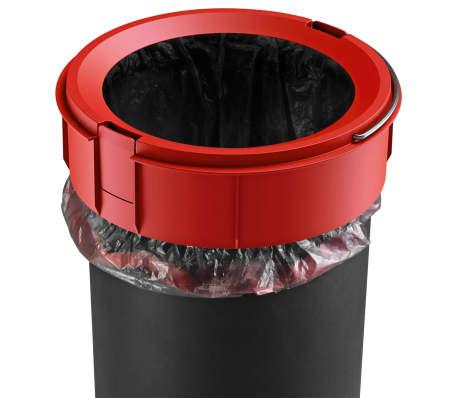 Hailo Papelera con pedal Pure tamaño S 3 L roja 0504-040[9/10]