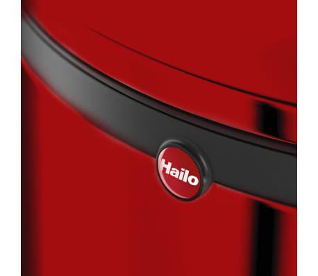 Hailo Papelera con pedal Pure tamaño M 12 L roja 0517-040[7/10]