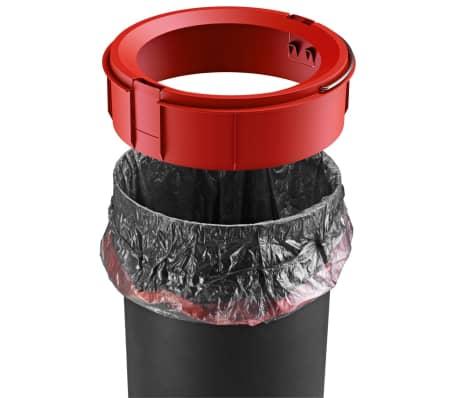 Hailo Papelera con pedal Pure tamaño M 12 L roja 0517-040[9/10]