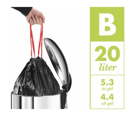 Hailo Papelera con pedal Pure tamaño M 12 L roja 0517-040[10/10]