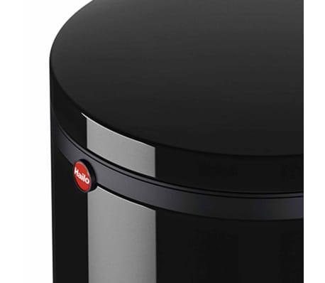 Hailo Papelera con pedal Pure tamaño M 12 L negra 0517-060[6/10]