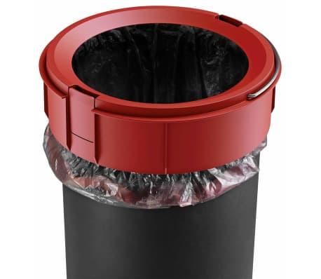 Hailo Papelera con pedal Pure tamaño M 12 L negra 0517-060[8/10]
