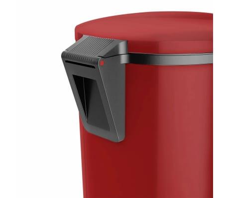 Hailo Cubo de basura con pedal Pure tamaño L 25 L rojo 0530-040[4/8]