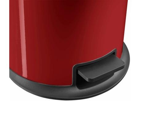 Hailo Cubo de basura con pedal Pure tamaño L 25 L rojo 0530-040[5/8]