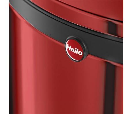 Hailo Cubo de basura con pedal Pure tamaño L 25 L rojo 0530-040[7/8]