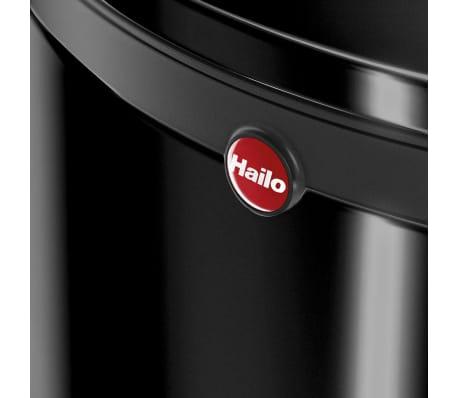 Hailo Cubo de basura con pedal Pure tamaño L 25 L negro 0530-060[7/8]
