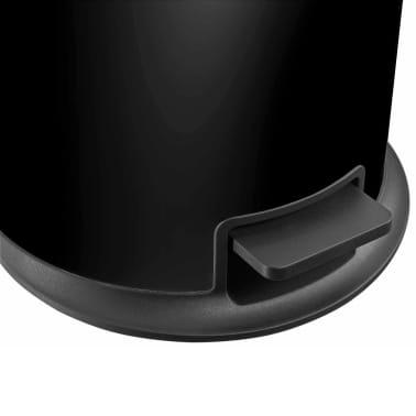 Hailo Cubo de basura con pedal Pure tamaño L 25 L negro 0530-060[5/8]