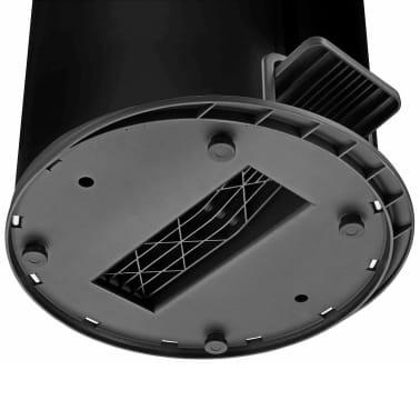 Hailo Cubo de basura con pedal Pure tamaño L 25 L negro 0530-060[6/8]