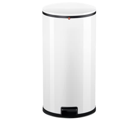 Hailo Cubo de basura con pedal Pure tamaño XL 44 L blanco 0545-030[2/7]