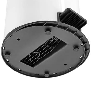 Hailo Cubo de basura con pedal Pure tamaño XL 44 L blanco 0545-030[6/7]
