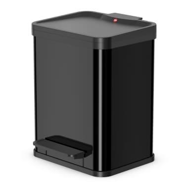 Hailo Cubo con pedal Oko Duo Plus tamaño M 2x9 L negro 0622-260[1/7]
