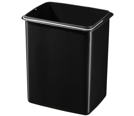 Hailo Cubo con pedal Oko Duo Plus tamaño L 17+9 L acero inox 0630-200[5/11]