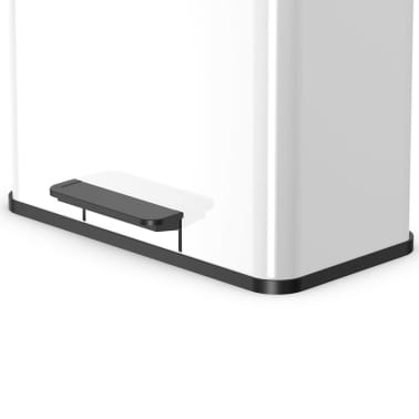 Hailo Cubo con pedal Oko Duo Plus tamaño L 17+9 L blanco 0630-230[3/10]