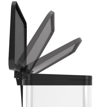 Hailo Cubo con pedal Oko Duo Plus tamaño L 17+9 L blanco 0630-230[4/10]