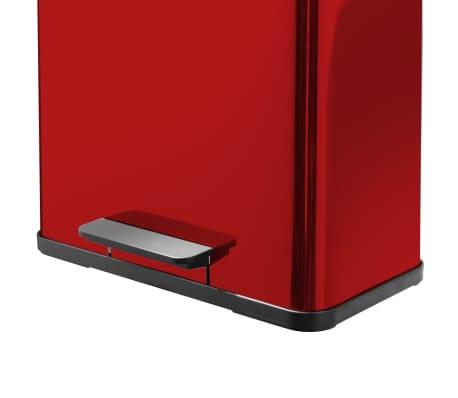 Hailo Cubo con pedal Oko Duo Plus tamaño L 17+9 L rojo 0630-240[3/9]